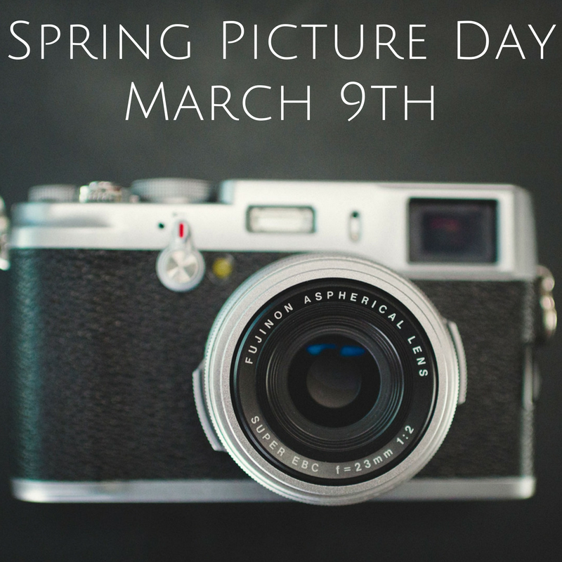 Spring Picture Day March 9th