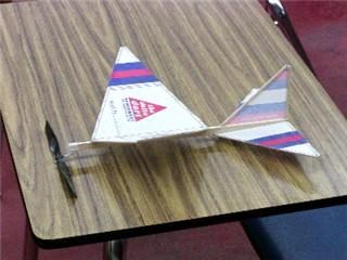 Completed glider