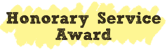 honorary service awards icon