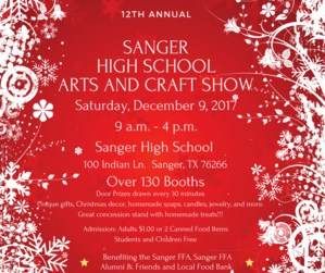 Sanger High School Craft Show