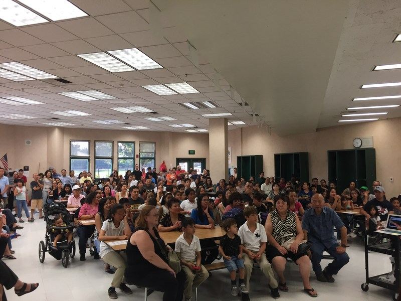 Another successful Back to School Night! Thumbnail Image
