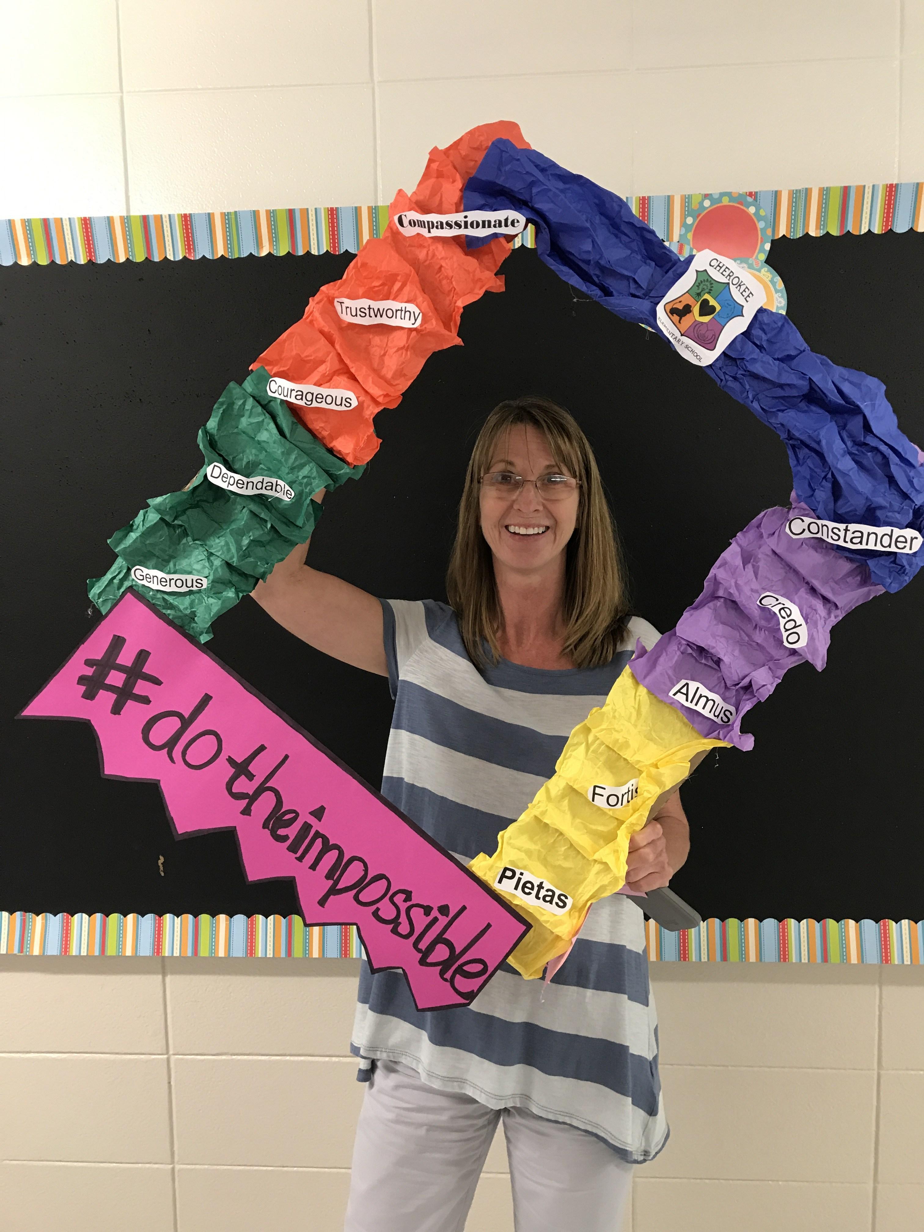 Ms. Bankston, principal