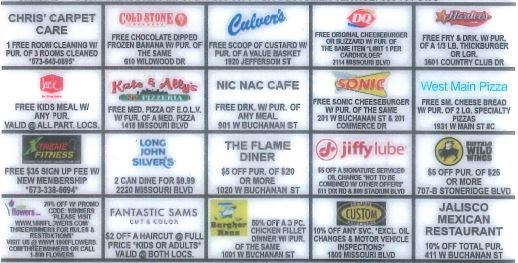 ES and MS Selling Discount Cards Thumbnail Image
