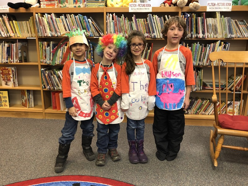 McFall Elementary Odyssey of the Mind team competes at regionals.