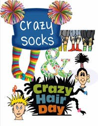 Crazy Hair or Crazy Hat and Crazy Socks Day! Featured Photo