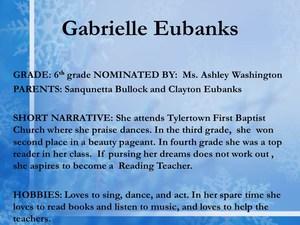 scholar Gabrielle Eubanks