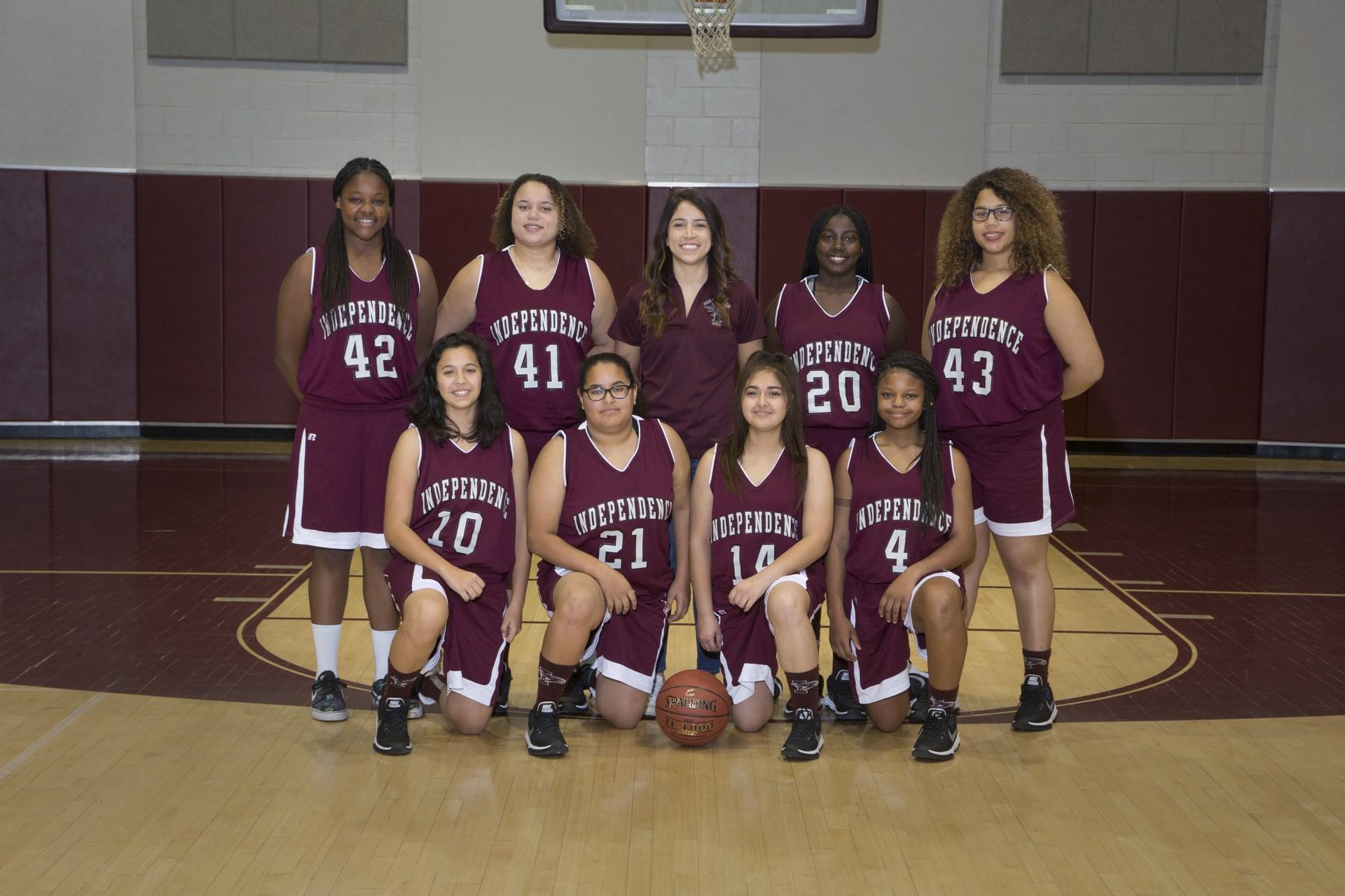 frosh soph girls basketball 2017