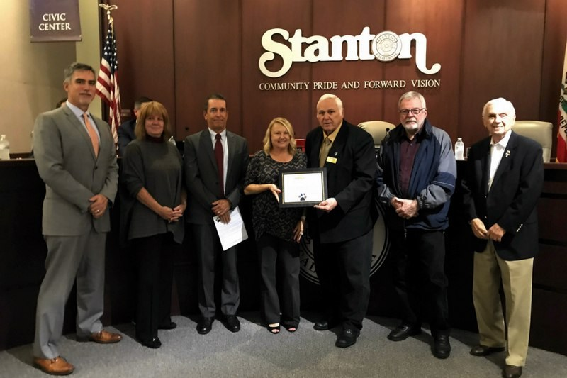 Stanton City Council members