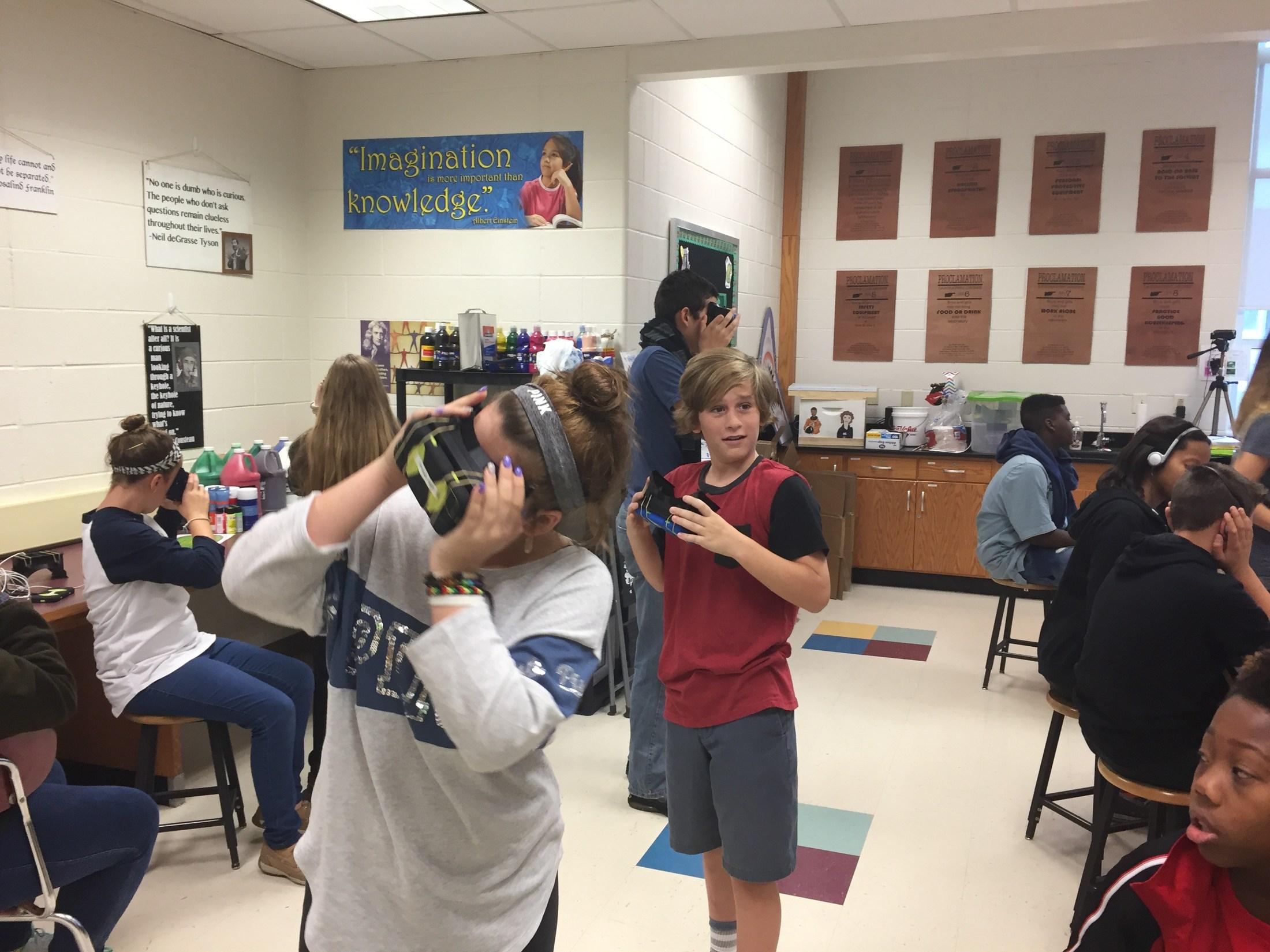 Virtual reality tours