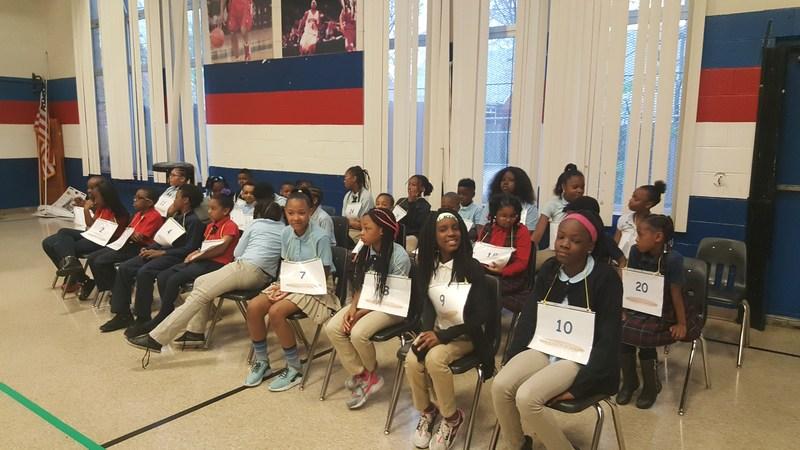 DEA Spelling Bee Students