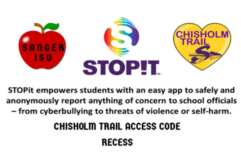 STOPiT Chisholm Trail Access Code of RECESS
