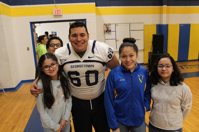 Motivational Speaker, Jonathan Medina, asks VVJH Students To P.U.S.H. on STAAR Thumbnail Image