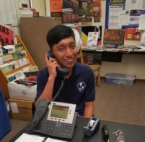 Ismael receiving phone call from Schreiner.jpg