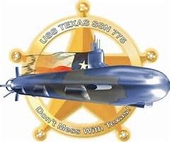 USS Texas Crest