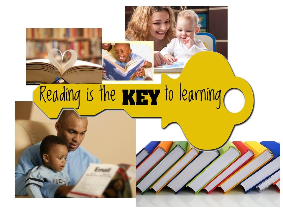 Reading is Key Graphic
