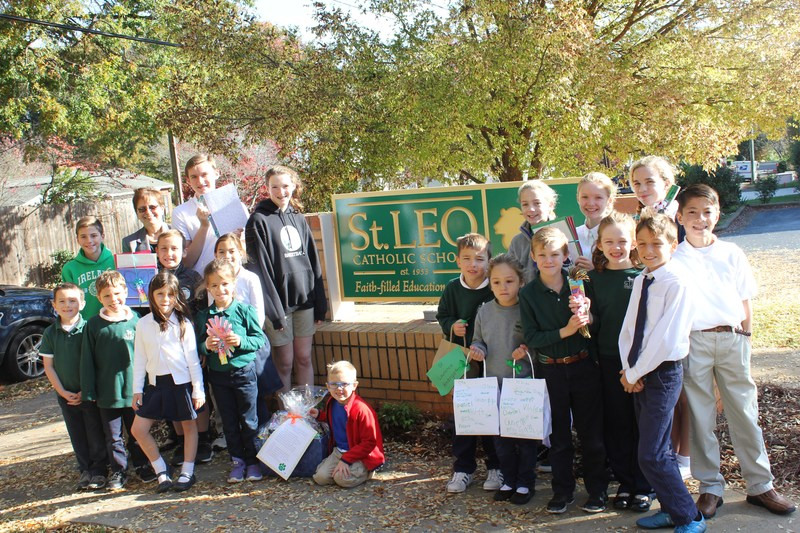St. Leo School:  Where Community Meets Family Thumbnail Image
