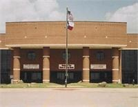 Front view of Mineral Wells High School