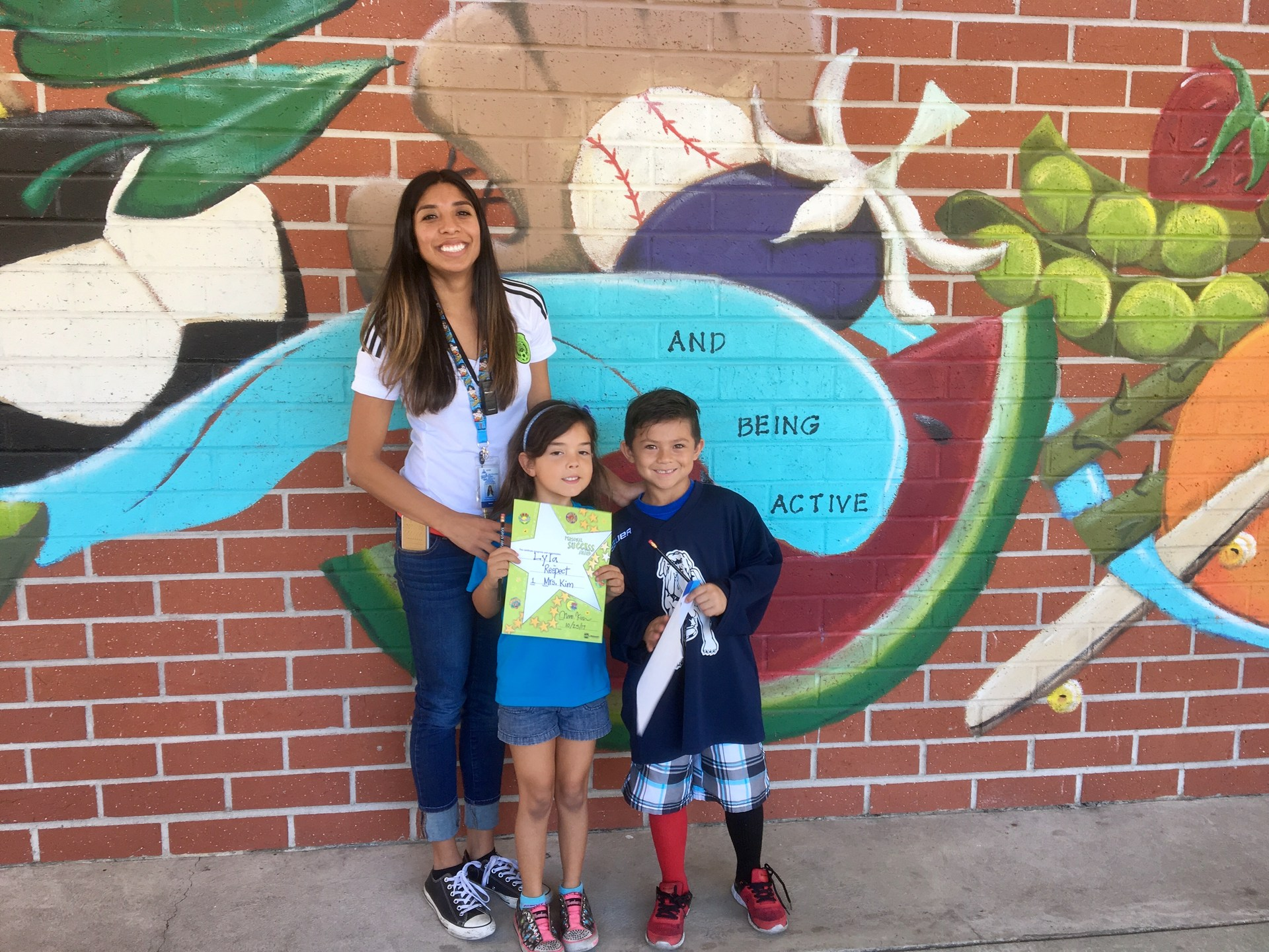 Ms. Rodriguez's October Honorees