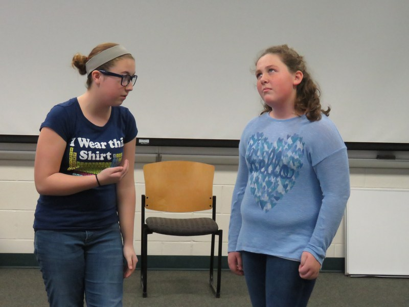 TKMS students rehearse for their upcoming play