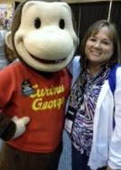 Mrs.Thompson with Curious George