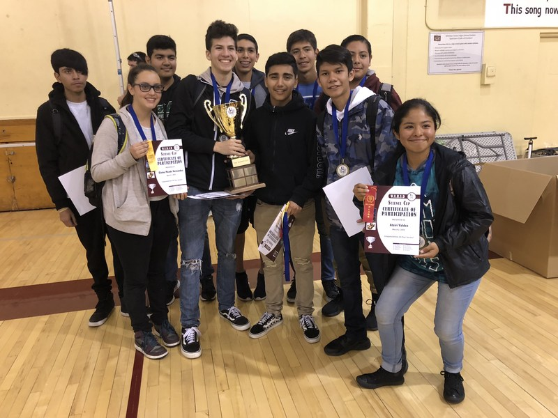 District Holds Inaugural Science Cup Featured Photo