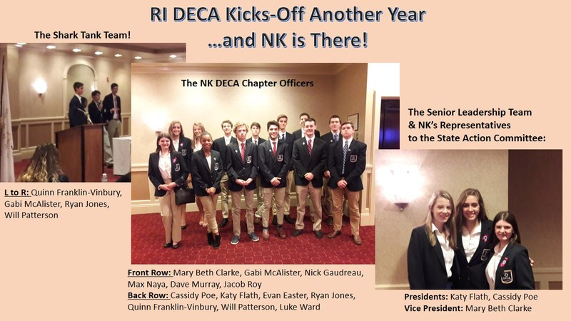 NKHS DECA Leadership Team