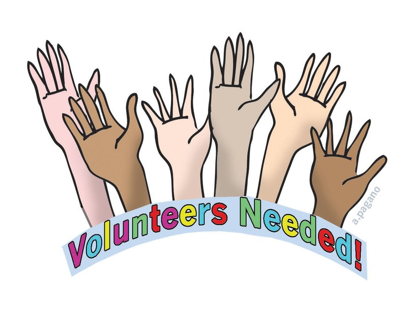 Volunteers Needed Thumbnail Image