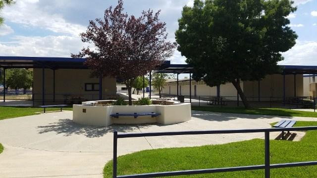 BAS courtyard