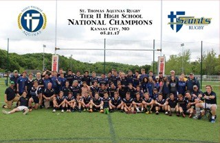 Saints Rugby National Champs Team Photo