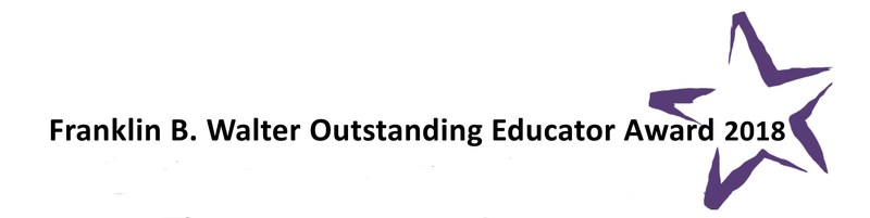 Ms. Becky Leonti Wins Franklin B. Walter Outstanding Educator Award Thumbnail Image