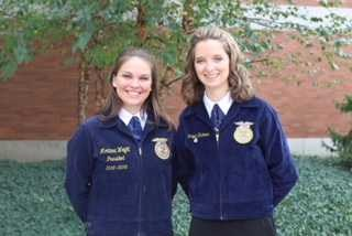 Micayla Hickman & Montana Wright Place 6th & 7th in Their FFA Results Categories! Thumbnail Image
