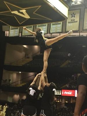 WCHS Cheerleaders at Vandy