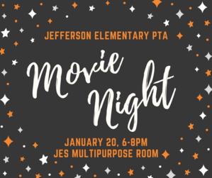 Jefferson Elementary PTA Movie Night 1.20.17.png
