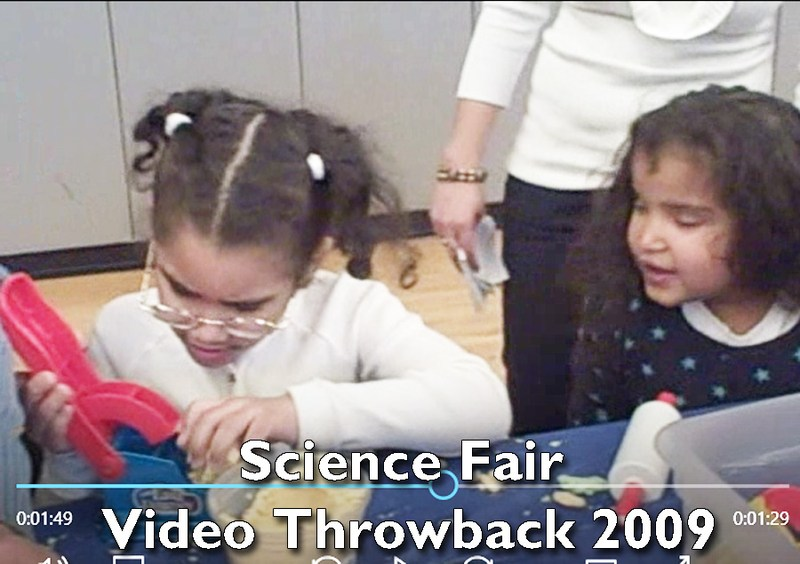 2009 Science Fair Video Throwback