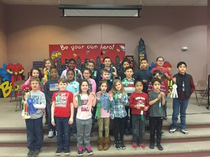 Houston Elementary Spelling Bee Participants