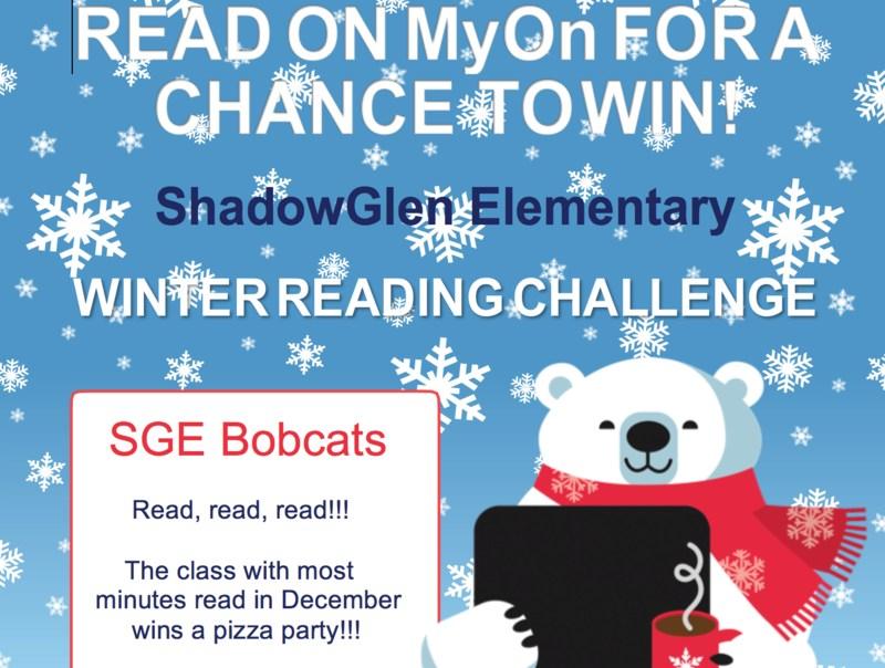 Join the SGE MyOn Challenge! Thumbnail Image