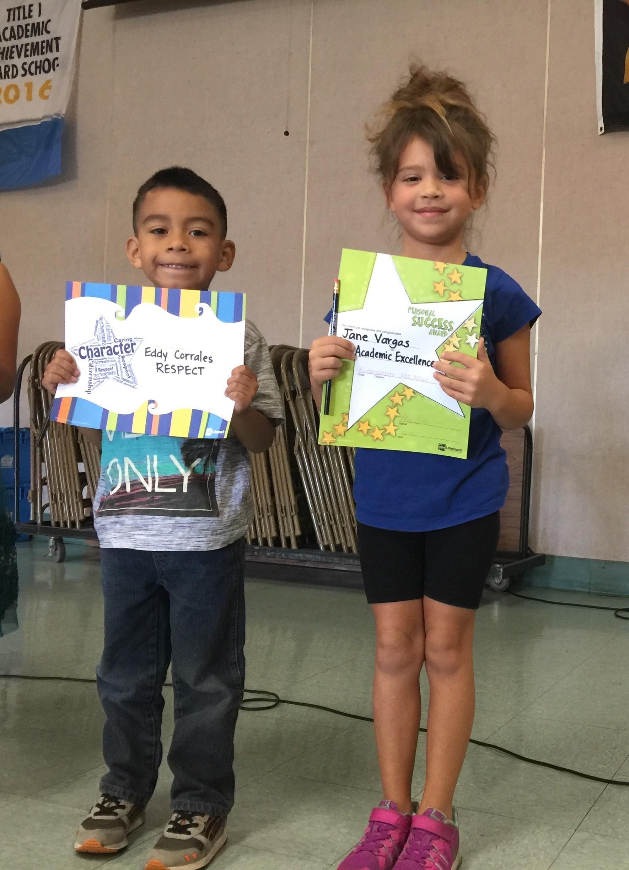 Proud Kindergarteners