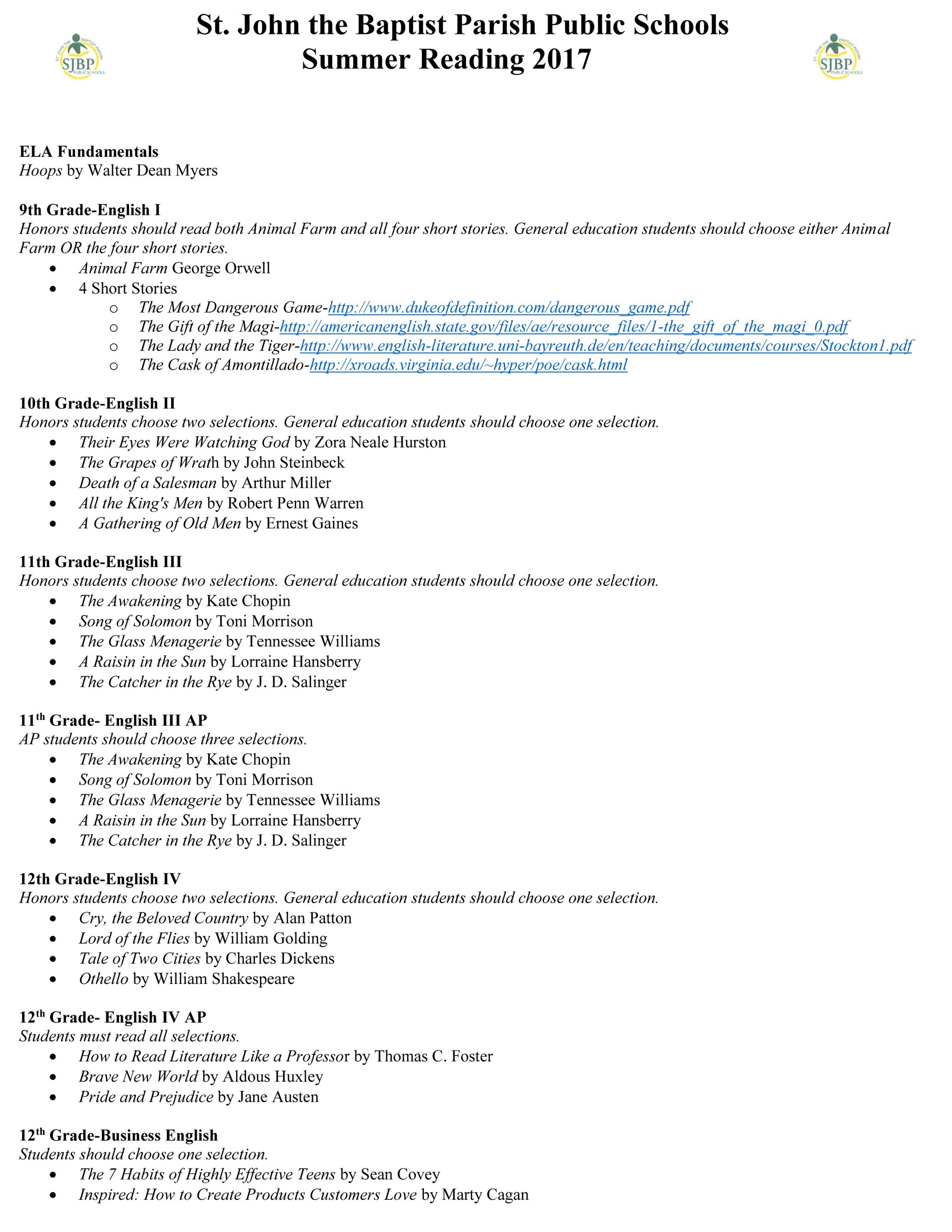 summer reading list page 2