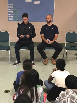 Cal State Fullerton Men's Soccer players read and talk about character