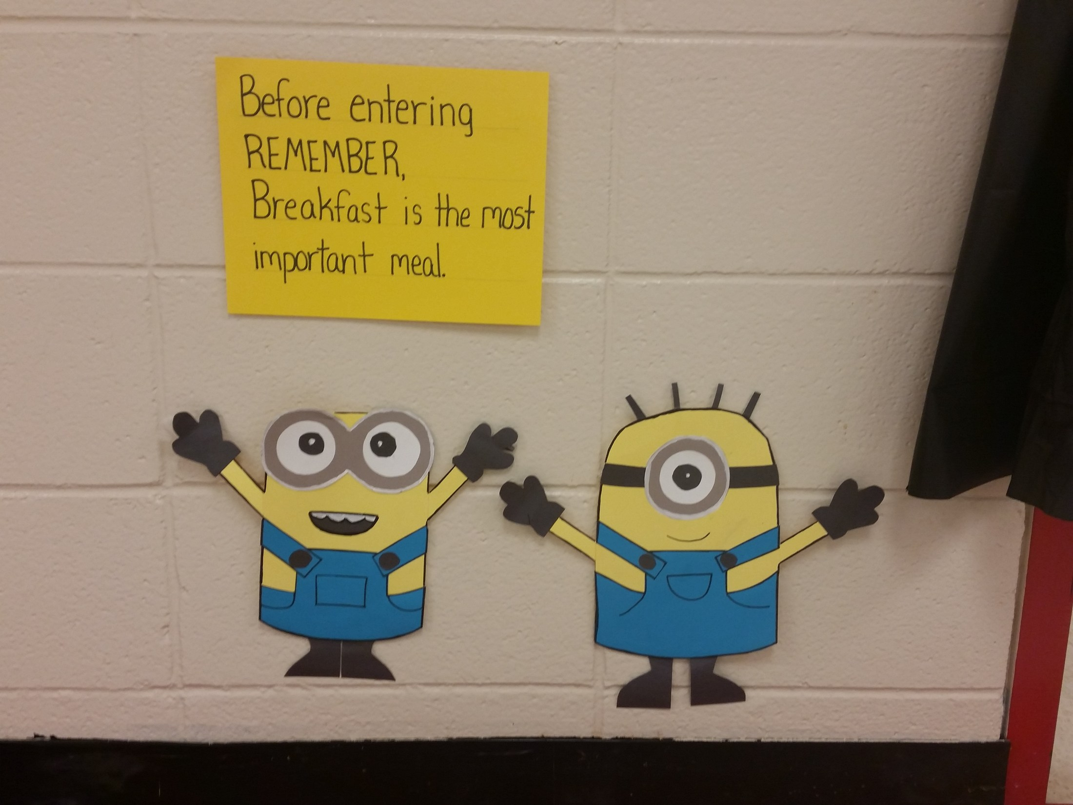 The Minions are eating at North Newton