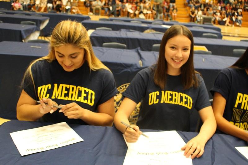 Senior Signing Ceremony Thumbnail Image