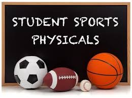 Student Sports Physicals Graphic