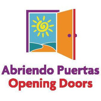 Logo of Abriendo Puertas or Opening Doors