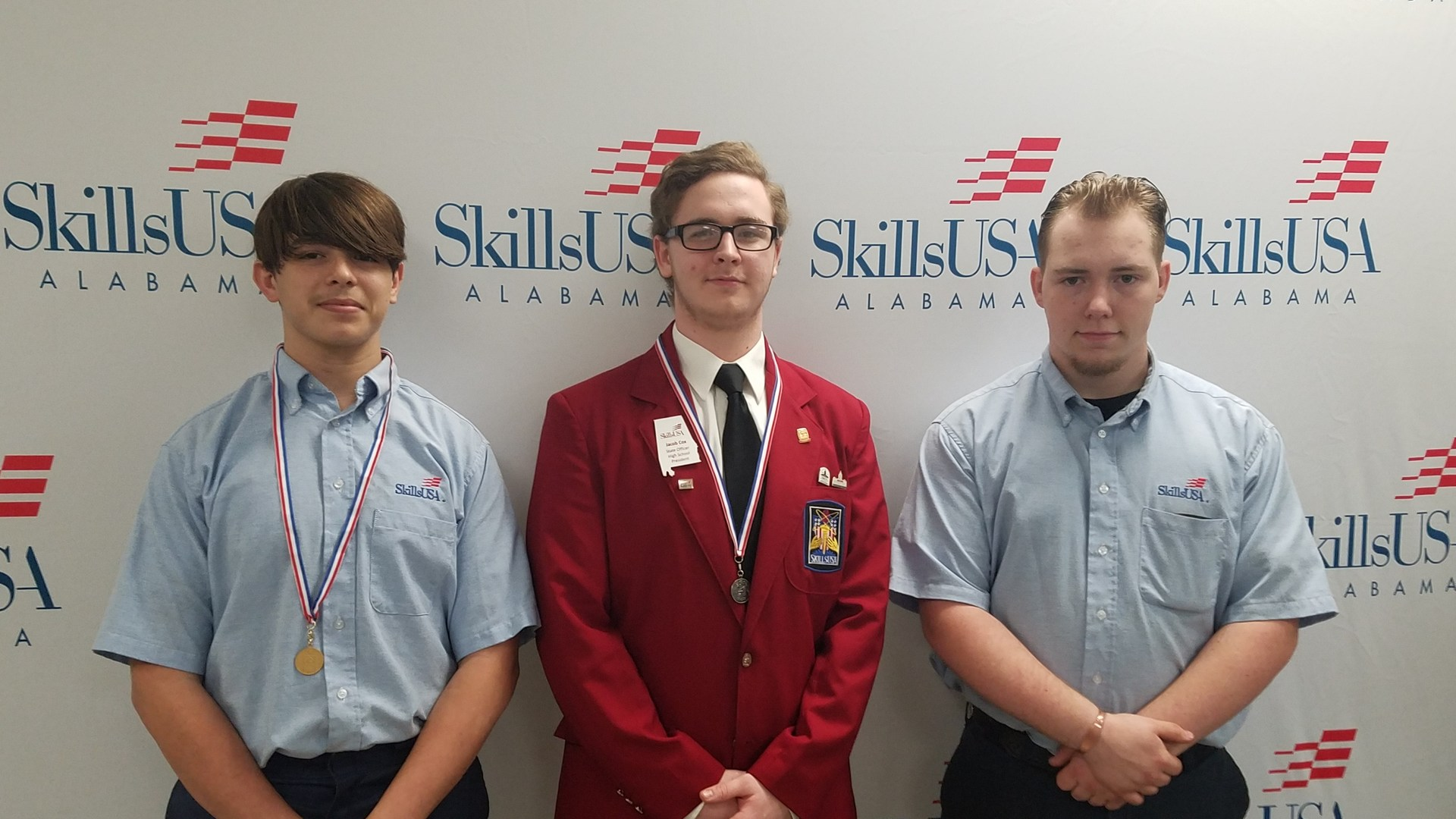 SKillsUSA at District Competitions 2018.