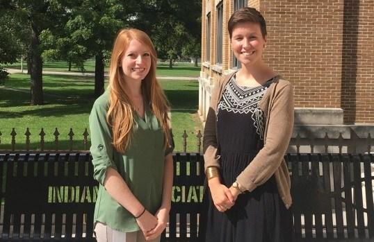 Speech Language Pathologists Casey Spelman & Lindsey Pfledderer