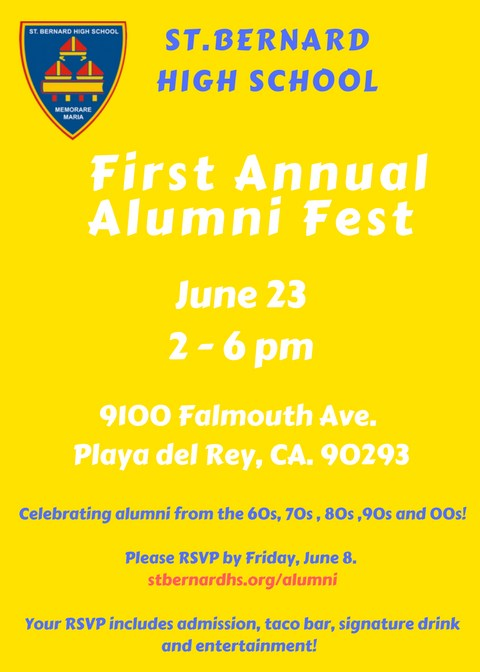 First Annual Alumni Fest Featured Photo