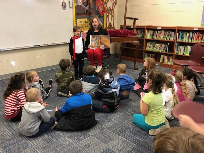 Dr. McSwain teaching a class