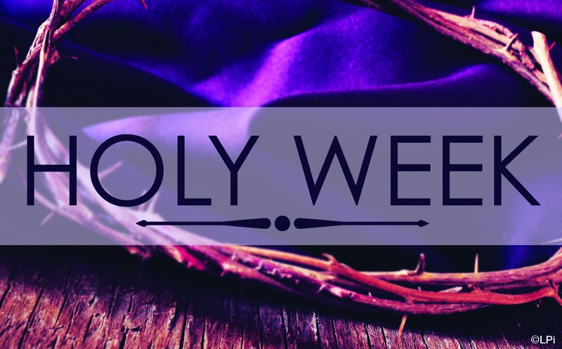 Holy Week Mass Schedule Thumbnail Image