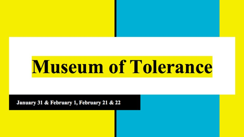 Graphic of Museum of Tolerance