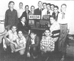 VNJH Radio Station K6FQD 1954.jpg